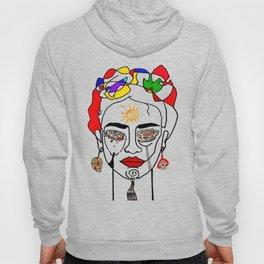 Move like Frida Kahlo Hoody