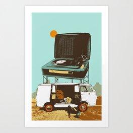 BROKEDOWN Art Print