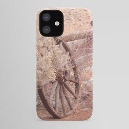 Old Western Wheel iPhone Case