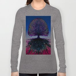 Tree of Life Creative Link Long Sleeve T-shirt