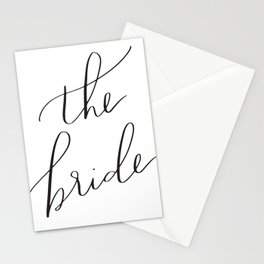 the bride Stationery Cards