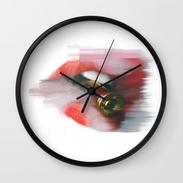 BULLET MOUTH Wall Clock