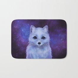 Arctic Fox (color version II.) Bath Mat