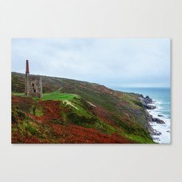 Wheal Prosper mine Canvas Print