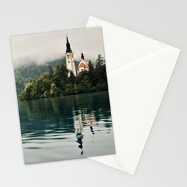 Bled Slovenia Nature Photography Stationery Cards