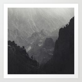 From Another Time - Caldera Taburiente - La Palma - Canary Islands - Spain View Art Print