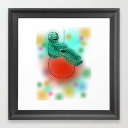 Wreck The Halls Framed Art Print