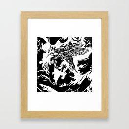 Stop that Humming Framed Art Print