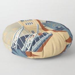 Tower Bridge Floor Pillow