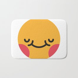 Emojis: Blush Bath Mat