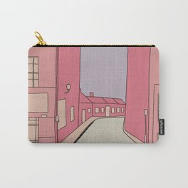 Pink Streets Carry-All Pouch