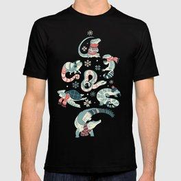 Winter herps T-shirt