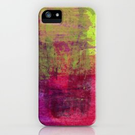 Abstract No. 453 iPhone Case