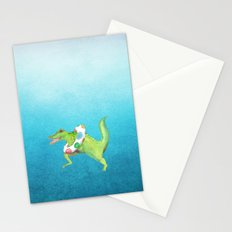 Swim Team Stationery Cards