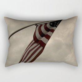 Old Glory Rectangular Pillow