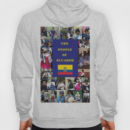 The People of Ecuador, Collage Hoody