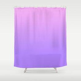 PINK PURPLE FADE Shower Curtain