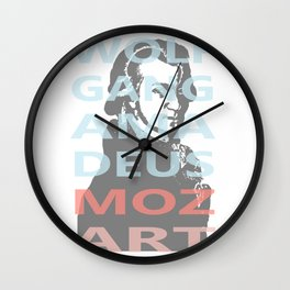 Wolfgang Amadeus Mozart Wall Clock