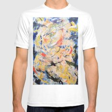 Tower Mens Fitted Tee White MEDIUM