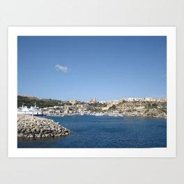 Malta Art Print