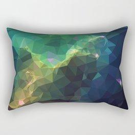 Galaxy low poly 3 Rectangular Pillow