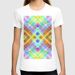 Colorful digital art splashing G71 T-shirt