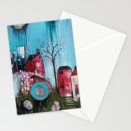 Home Love Belong Stationery Cards