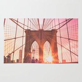NYC Brooklyn Bridge Rug