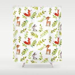 Forestland Shower Curtain