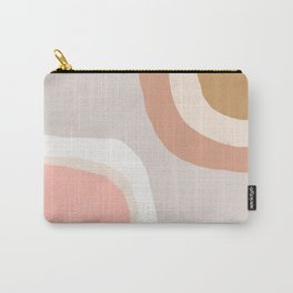Minimal Abstract Carry-All Pouch