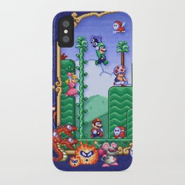 Mario Super Bros, Too iPhone Case