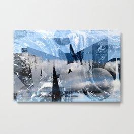 Lonely flight -Einsamer Flug Metal Print