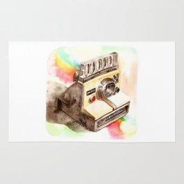 Vintage gadget series: Polaroid SX-70 OneStep camera Rug