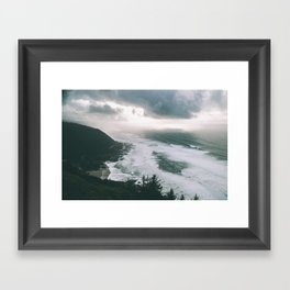 Oregon Coast XIII Framed Art Print
