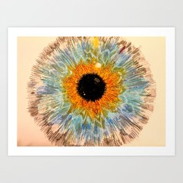 """Eyes without speaking confess the secrets of the heart"" Art Print"