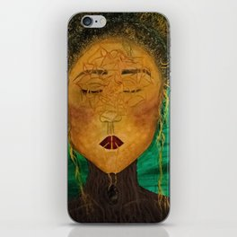Wounded Nature Queen iPhone Skin