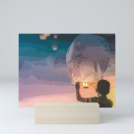 Light Up the Night Mini Art Print
