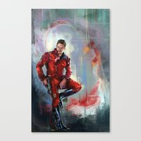 star lord Canvas Prints featuring Star-Lord by Wisesnail