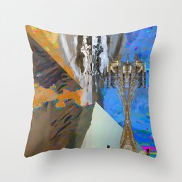 landscape collage #22 Throw Pillow