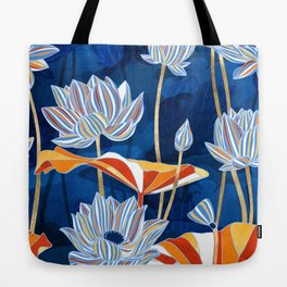 Bold Botanical Tote Bag