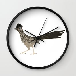 Roadrunning Roadrunner Wall Clock
