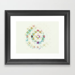 Burst. Framed Art Print