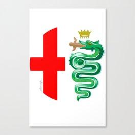 Alfa Romeo logo interpretation! Canvas Print