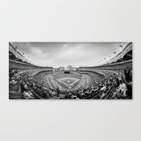 yankees Canvas Prints featuring New York Yankees by Bust it Away Photography