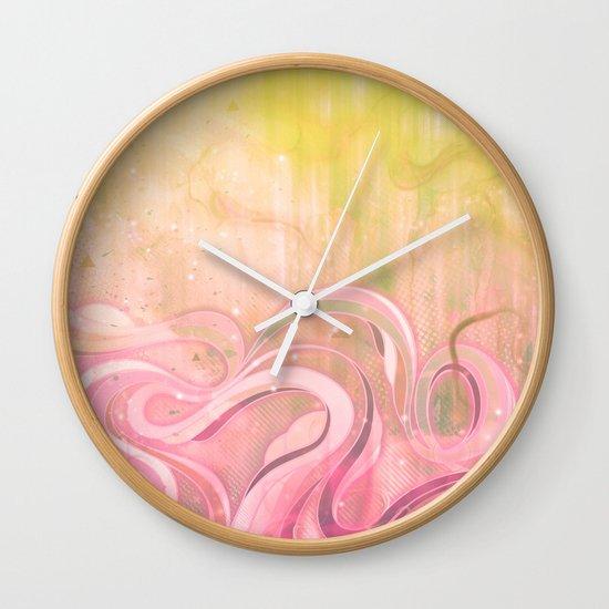 Cascade II Wall Clock
