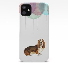 Basset Hound Party iPhone Case