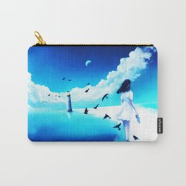 Lighthouse At The Sea Carry-All Pouch