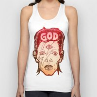 god Tank Tops featuring God by Beery Method