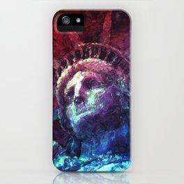 Patriotic Liberty iPhone Case
