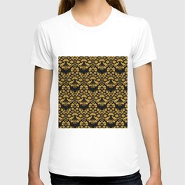 Golden ornament in baroque style T-shirt